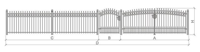 Mmkmetall.de - Hinweise Zur Maßaufnahme Beim Zaun Und Tor