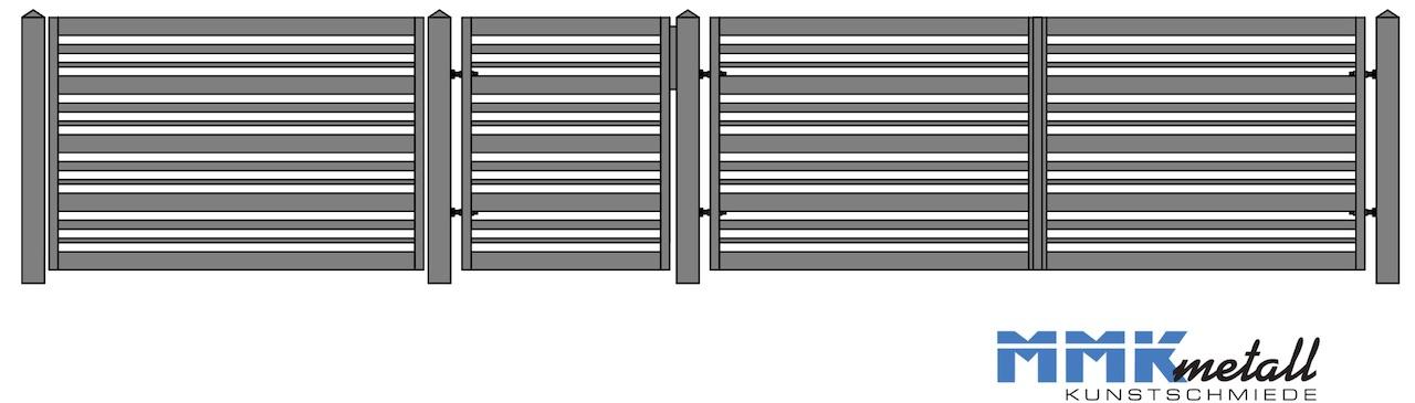 zaunmuster E5 neu