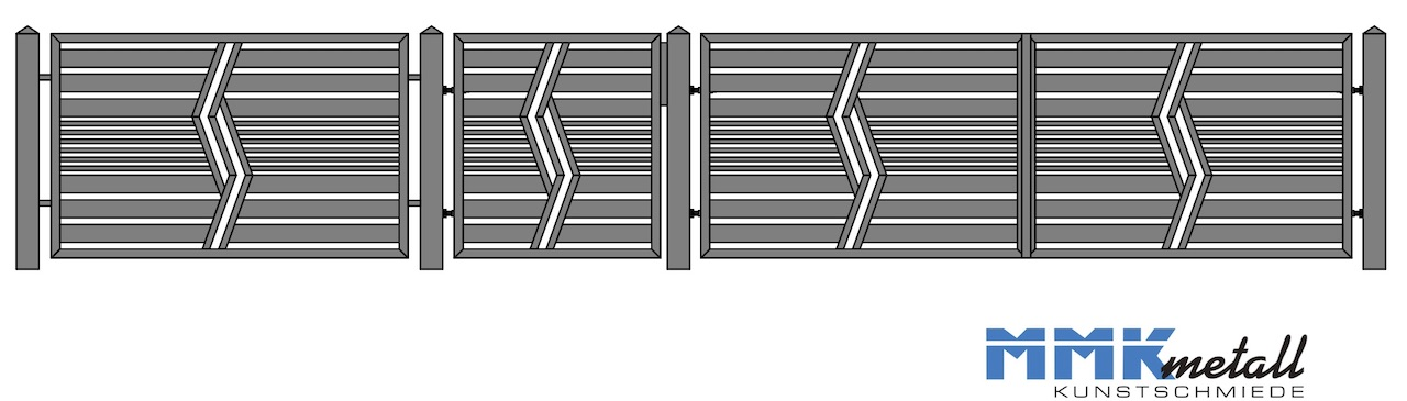 zaunmuster F7 neu